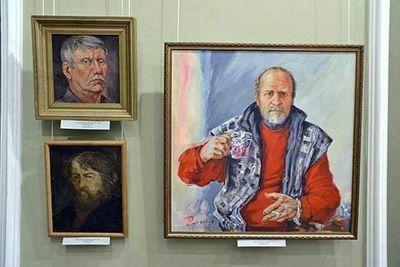 Художники приангарья отмечают юбилей