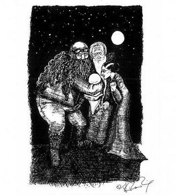 Иллюстрации джоан роулинг для гарри поттера