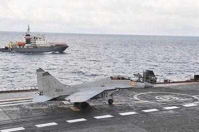 Индийские аудиторы раскритиковали российские палубные истребители миг-29к