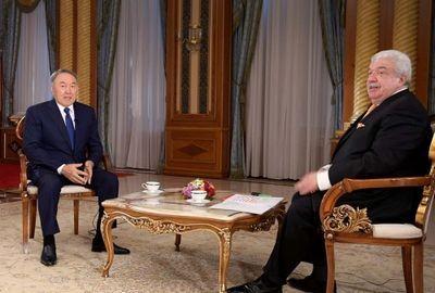 Интервью президента казахстана одному из российских телеканалов смотрите на «24 kz»
