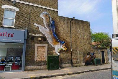 Irony boe граффитчики-анималисты из лондона