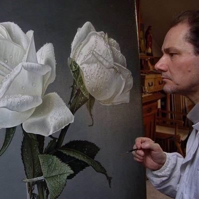 Итальянский гиперреалист джоаккино пассини - розы
