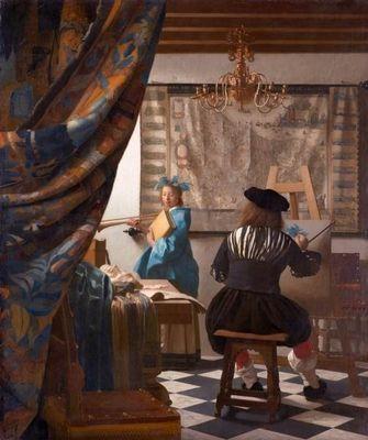 Ян вермеер картины