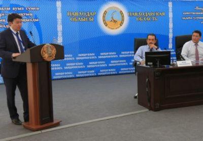 К.масимов поручил решить проблему водоснабжения в павлодарской области