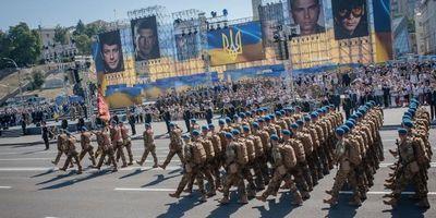 Как прошел военный парад в день независимости украины