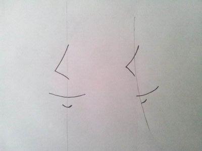 Как рисовать аниме лицо