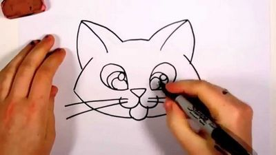 Как рисовать уши. уроки рисования портрета
