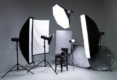 Как сделать студийное освещение в домашних условиях