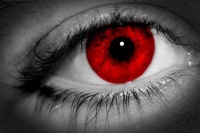 Как убрать красные глаза на фото