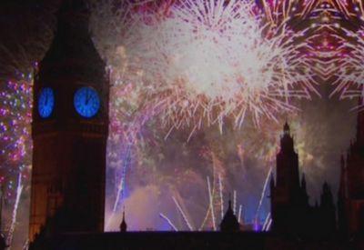 Как встречают новый год британцы