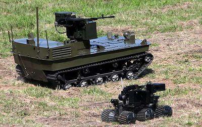 Какие боевые роботы есть в армии россии