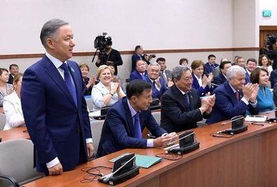 Кандидатура н.нигматулина выдвинута на пост председателя мажилиса парламента
