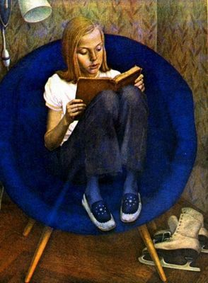 Картина хабарова «портрет милы» описание