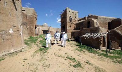 Казахстанская экспедиция «по следам предков» посетила астраханскую область