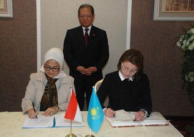 Казахстанские и индонезийские эксперты в области фармакологии подписали меморандум о взаимопонимании