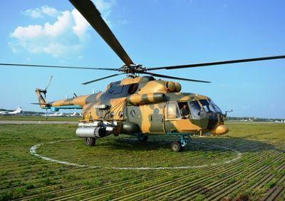 Казахстанские вертолетчики заняли третье место на «авиадартсе» арми-2016
