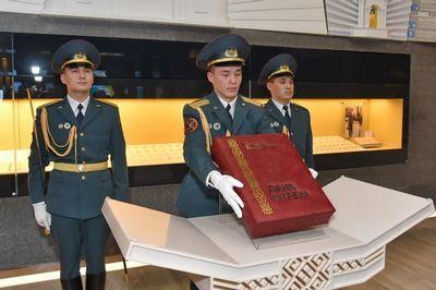 Книгу славы установили в национальном музее рк