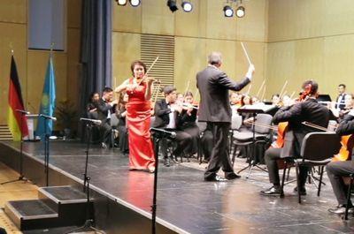 Концерт евразийского симфонического оркестра состоялся во франкфурте-на-майне