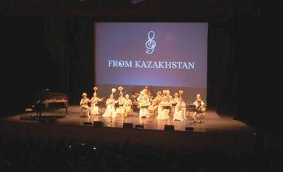 Концерт с участием казахстанских эстрадных и оперных исполнителей прошел в женеве