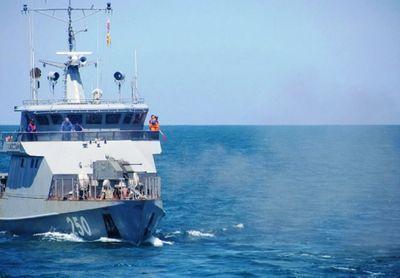 Корабли вмс рк вышли в сбор-поход по казахстанскому сектору каспия
