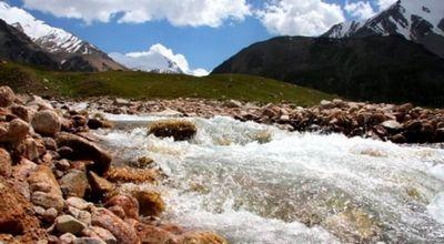 Кратковременный селевой выброс сошел на реке улкен алматы
