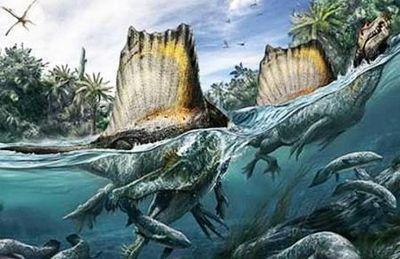 Крупнейший хищный динозавр ел крокодилов на завтрак