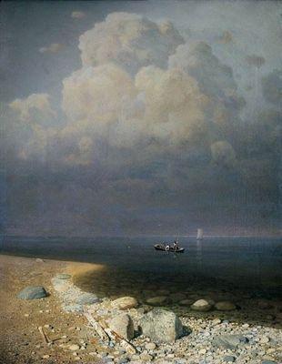 Ладожское озеро картина куинджи