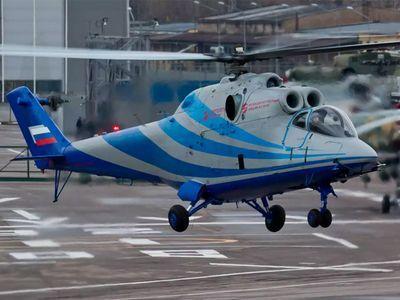 Летающая лаборатория для перспективного скоростного вертолета поднялась в воздух