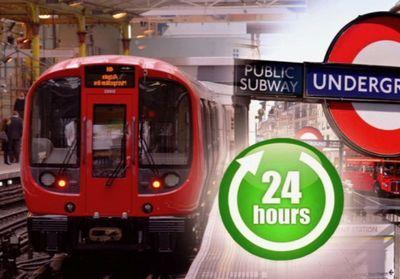 Лондонское метро переходит на круглосуточный режим работы