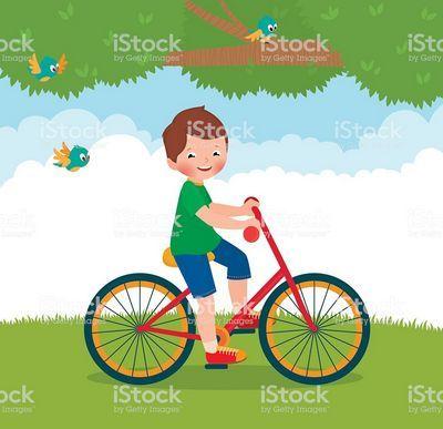 «Мальчик на велосипеде»