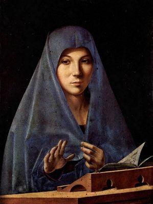 Мария аннунциата картина антонелло да мессина