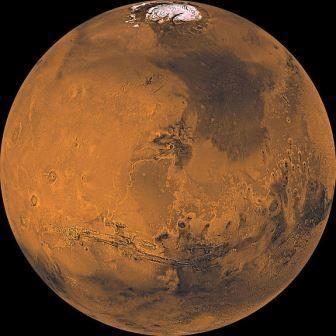 Марс: кольца и спутники