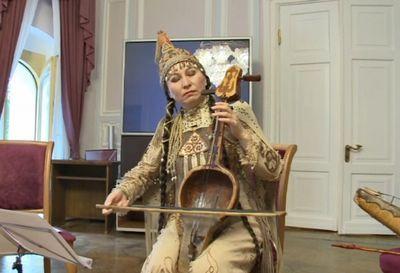 Мелодии священного кобыза прозвучали на московской земле