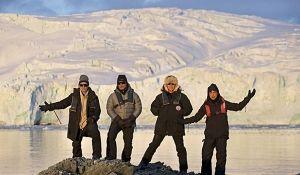 Metallica дала концерт в антарктике