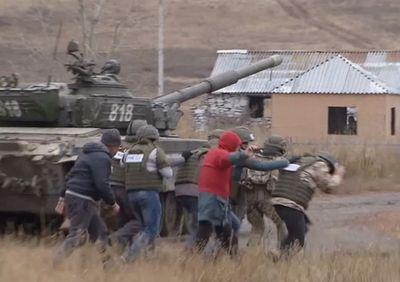 Министерство обороны рк обучает журналистов работе в «горячих точках»