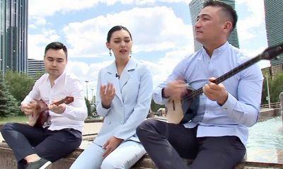 Мировые хиты на домбре - группа «made in kz» вернулась из финляндии