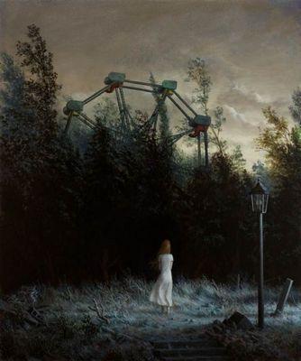 Мистические картины. художник арон вайзенфелд