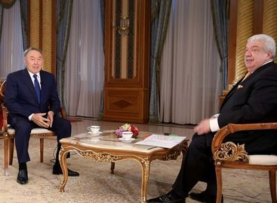 Н.назарбаев: я полон решимости довести до конца все 100 пунктов