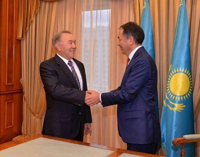 Н.назарбаев: считаю кандидатуру б.сагинтаева наиболее подходящей