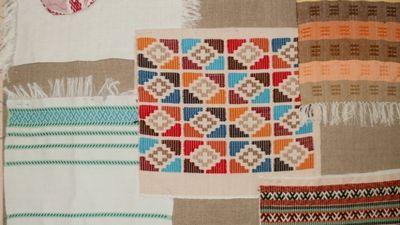 На южном урале возрождают ткачество