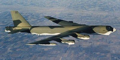 На острове гуам в тихом океане разбился бомбардировщик b-52
