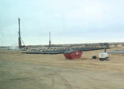 Начато строительство третьего завода на месторождении тенгиз