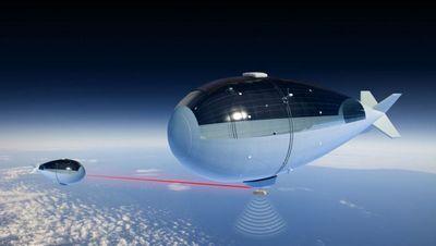 Надувная стратосферная станция сможет выполнять роль спутника
