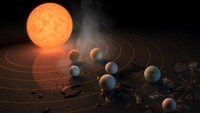 Nasa обнаружило семь потенциально пригодных для жизни планет