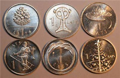Население латвии не спешит полностью избавиться от латвийской национальной валюты