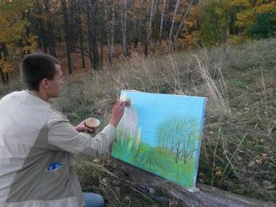 Новое направление в искусстве artnatura, от художника алексея зимина