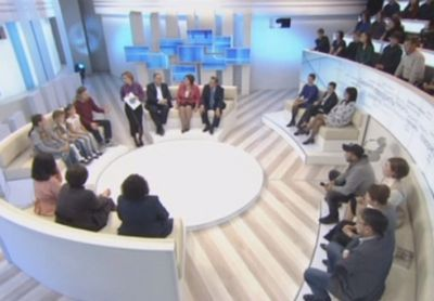 Новое ток-шоу «давайте говорить» в эфире канала «хабар»