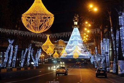 Новогодний тбилиси готов к приему иностранных гостей
