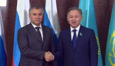 Нурлан нигматулин встретился с главой государственной думы россии