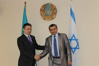 Объем товарооборота казахстана с израилем с начала года составил $236,9 млн